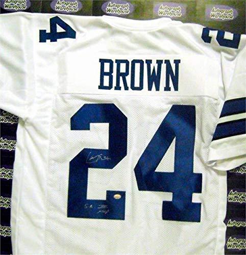 Larry Brown autographed Jersey (Dallas Cowboys) Super Bowl MVP - Autographed NFL Jerseys