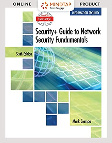MindTap Information Security For Ciampa S
