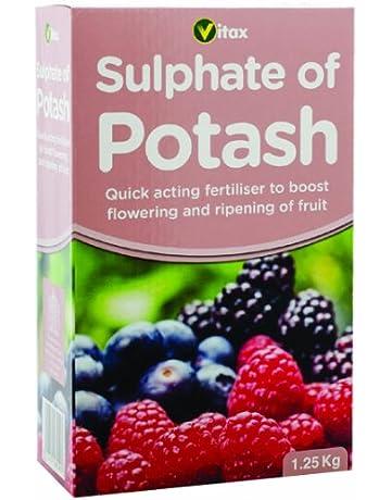 Vitax - Fertilizador de sulfato de potasa (1,25 kg)