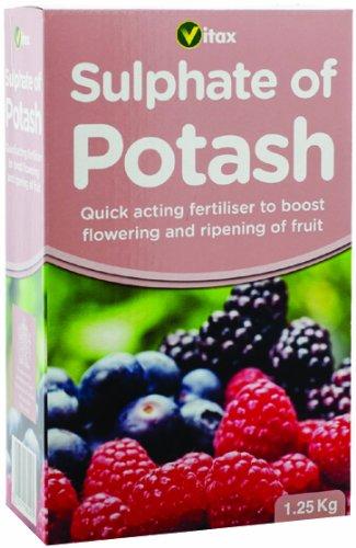 Vitax - fertilizzante di potassio (1.25 kg) solfato Vitax Ltd