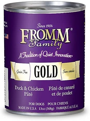 Fromm Gold Duck Chicken Can Dog Food Case of 12