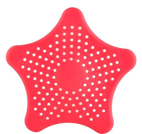 Best Flexible Star Shaped Kitchen Sink Strainer & Bathroom Strainer. (Colors may vary)