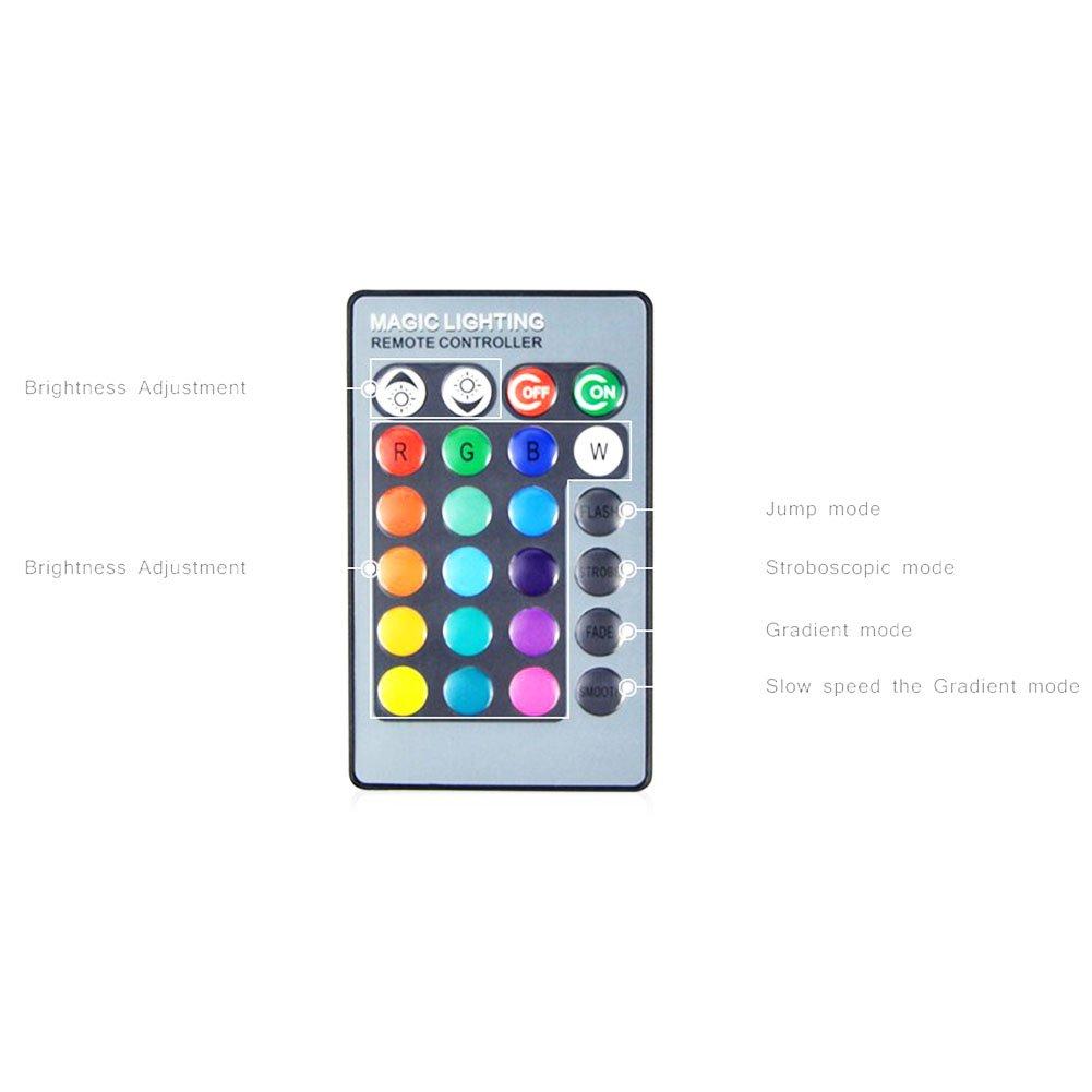IR Remote Control Party Decor B22 Zhengpin 5W E27 E14 B22 Colors Changing RGB LED Light Bulb