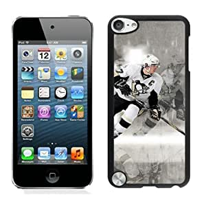 Unique iPod 5 Case,Pittsburgh Penguins Sidney Crosby Black Phone Case For iPod Touch 5 Cover Case