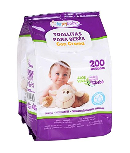 🥇 Formybaby BY11020160858 – Toallitas húmedas para bebés