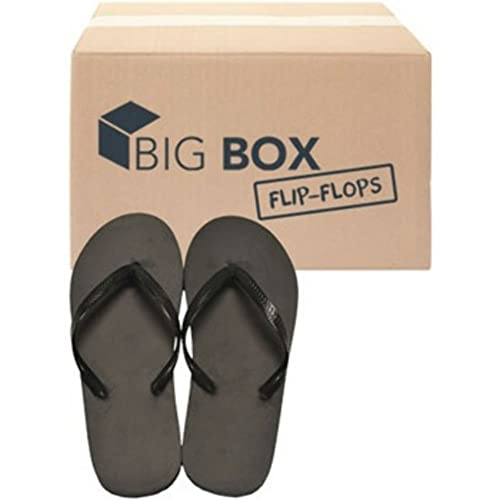 b3fe1539875 Amazon.com  DDI Wholesale Women s Basic Flip-Flops - Black  Shoes