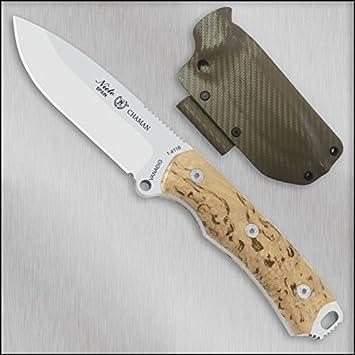 Cuchillo Miguel Nieto CHAMAN ABEDUL 140-A KYDEX: Amazon.es ...