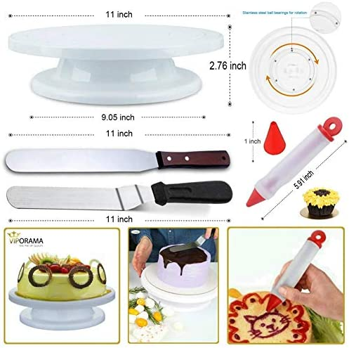 100 Pz Cake Decorating Supplies Kit accessori per la decorazione della torta Set Cupcake decora corredo cottura Set per principianti cottura Lovers