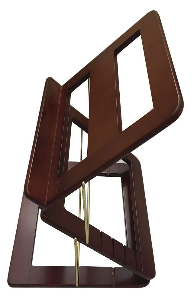 Multi Level Tabletop Book Stand for Sitting or Standing