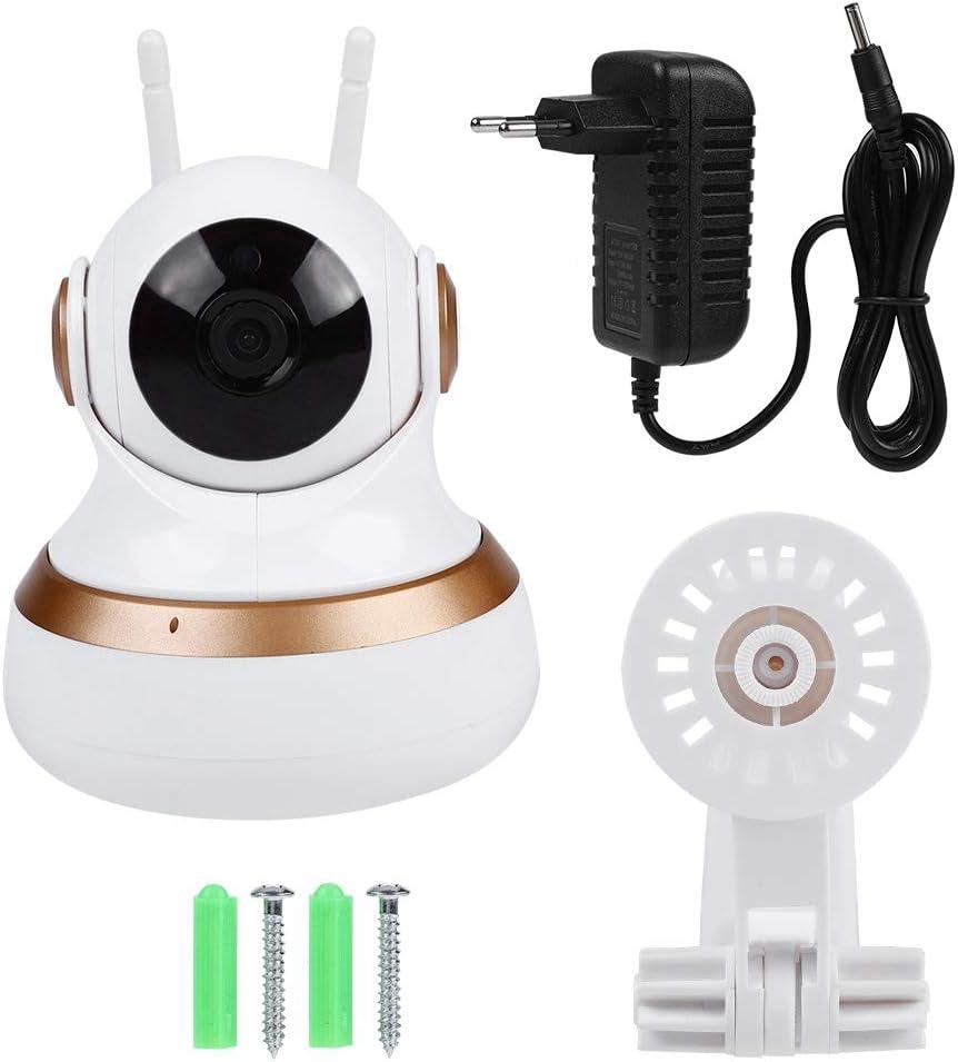Kafuty Alarma inal/ámbrica con Sensor de Movimiento PIR para la Seguridad del hogar Teclado con Mando a Distancia y Detector de Infrarrojos con Alerta de Sonido de 105 dB