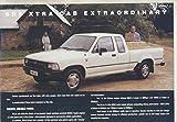 1992 Toyota HiLux 4x2 Pickup Truck Brochure Australia