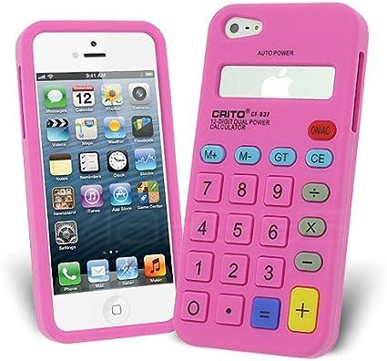 Celicious-Calcolatrice Form-Cover in Silicone per Apple iPhone 5 ...