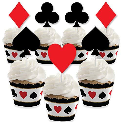 Las Vegas - Cupcake Decoration - Casino Party