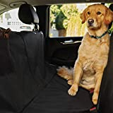Gorilla Grip Original Premium Waterproof Slip-Resistant Pet Car Seat Protector for Pets, Durable Protectors for Cars, SUV, Truck, Underside Grip, Seat Belt Openings, Pocket, X-Large, Hammock, Black