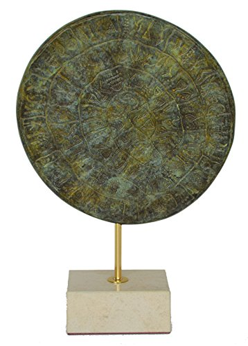 - Talos Artifacts Phaistos disc Bronze sculpture museum reproduction - Palace of Knossos - Minoan