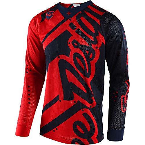 Troy-Lee-Designs-SE-Air-Shadow-Mens-Off-Road-Motorcycle-Jersey-RedNavy-2X-Large