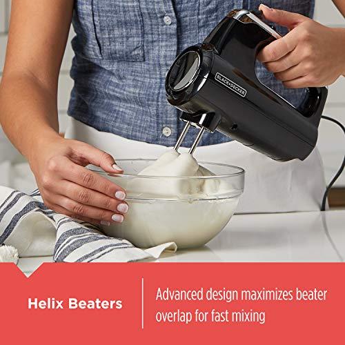BLACK+DECKER MX600B Helix Performance Premium 5-Speed Hand Mixer by BLACK+DECKER (Image #2)