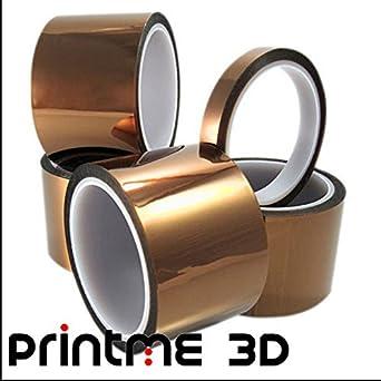 PrintME 3D - Kapton Cinta Para Impresoras 3D - 50cm X 33cm: Amazon ...