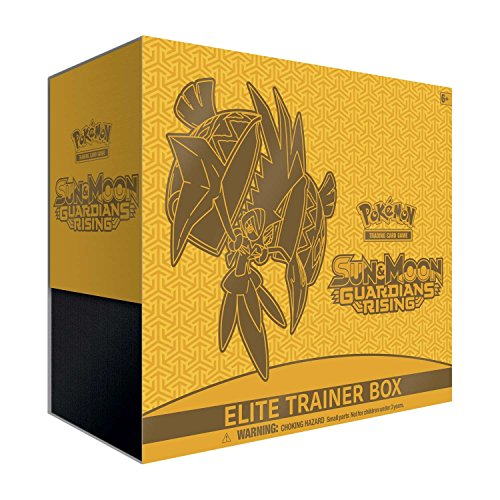 Pokemon TCG Sun & Moon-Guardians Rising Elite Trainer Box Card (Guardian Markers)