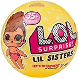 Giochi Preziosi LLU22000 - LOL Surprise LIL Sister Serie 3 Sfera con Mini Doll a Sorpresa, 5 Livelli, Modelli Assortiti, 1 Pezzo