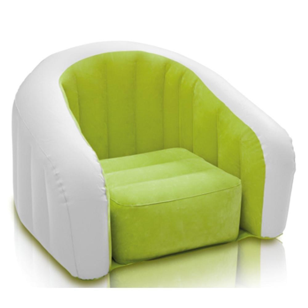 Pelo, sofá hinchable en forma de U para individuales Sillón ...