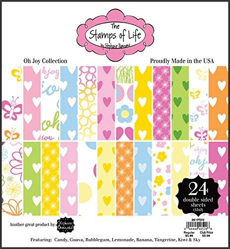 The Stamps of Life Oh Joy Easter Patterned Paper Pad for Card-Making and Scrapbooking by Stephanie Barnard ()