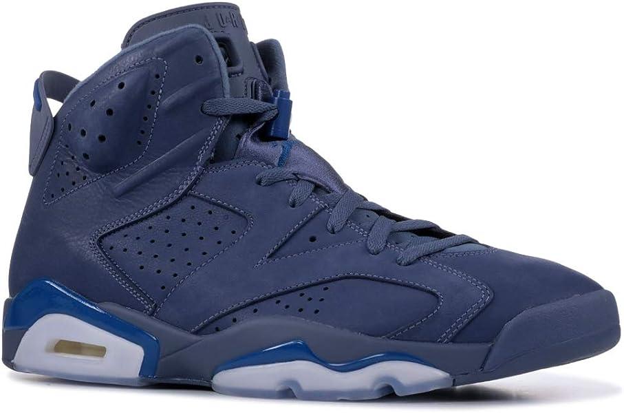 7b1aeff54b50 Nike Air Jordan 6 Retro  384664-400  Men Casual Shoes Jimmy Butler Diffused