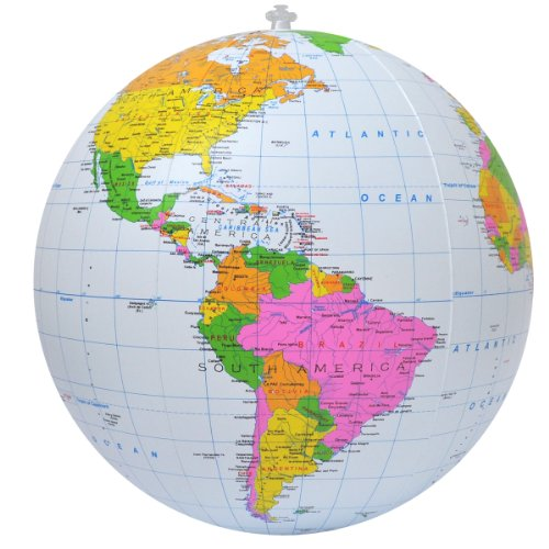 Inflatable Political Globe, 16