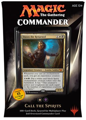 MTG Commander 2015 Edition Magic the Gathering – Call the Spirits White Black Deck New Sealed