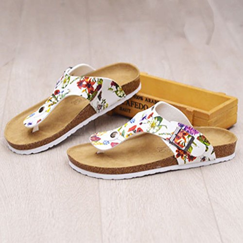 Flops Heels Slippers Flower Sandals Sandals Girls Open Thong Flip Women's Toe t6AdBHqwtn