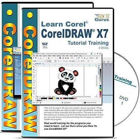 amazon com corel draw coreldraw x7 tutorial and corel coreldraw x6 rh amazon com CorelDRAW X3 CorelDRAW X7