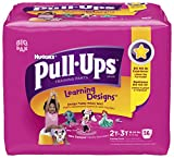 Health & Personal Care : Huggies Pull Ups Girl 2T-3T, 56 ct