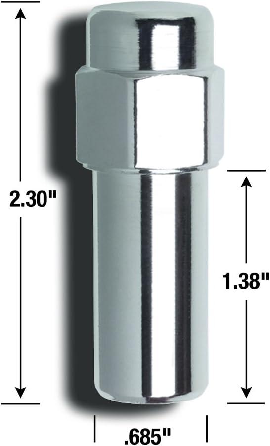 Gorilla Automotive 84177 Cragar SST Lug Nuts 7//16 Thread Size