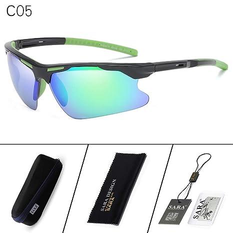 Mjia sunglasses Gafas Deportivas Hombre,Gafas de Sol ...