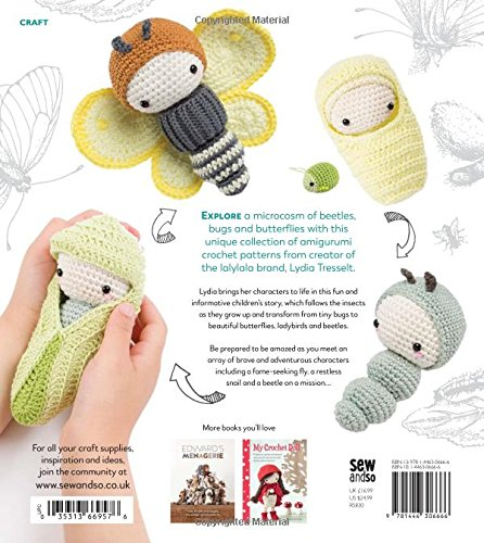Lalylalas Beetles Bugs And Butterflies A Crochet Bedtime Story Of
