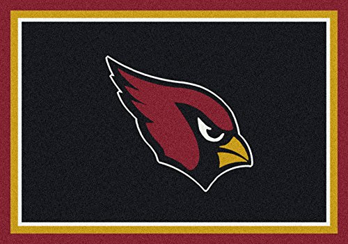 (Arizona Cardinals NFL Team Spirit Area Rug by Milliken, 3'10
