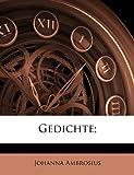Gedichte;, Johanna Ambrosius, 1149374209