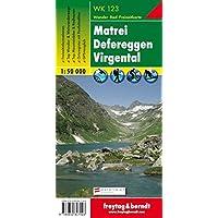 Freytag Berndt Wanderkarten, Matrei - Defereggen - Virgental - Maßstab 1:50 000