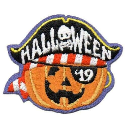 2Pc Boy Girl Cub Halloween '19 2019 Pirate Party Patches Crests Badges Scouts -