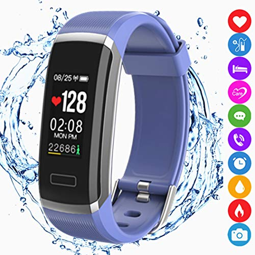 Fitness Tracker Activity Smart Bracelet Wristband Sports Ped...