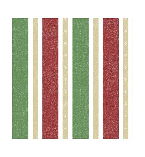 Wallpaper English Vertical Stripes Non-Woven Bedroom Living Room Background Color Striped Wallpaper Background Wall red Green White ()