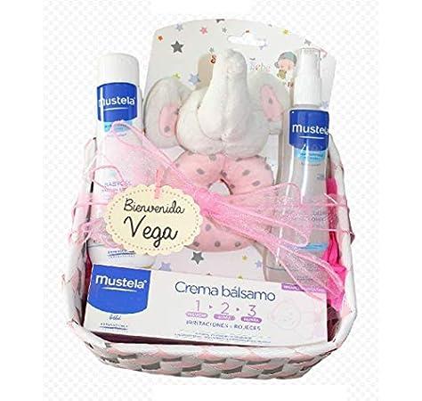 Cesta Bebé Pequeña Mustela, canastilla bebe regalo ideal recién ...