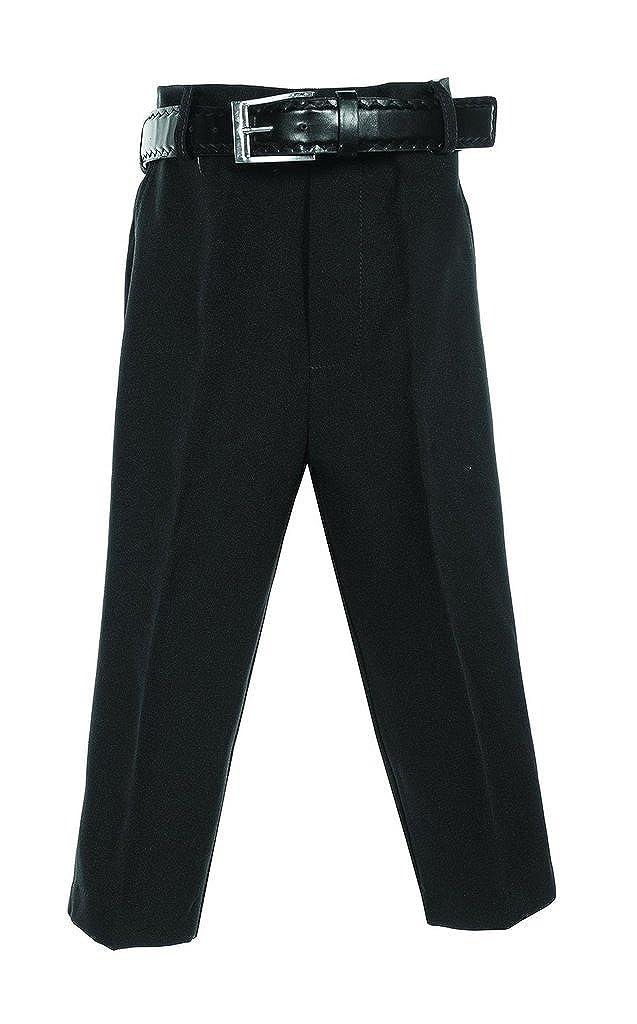 iGirldress Boys Flat Front Dress Pants with Belt