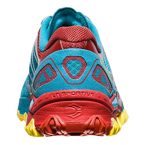 Zapatillas De Running La Sportiva Mutant Para Mujer - Ss18 Bushido Tropic Blue / Cardinal Red Talla: 43