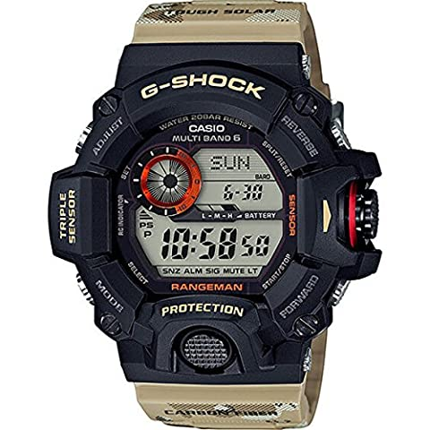 G-Shock Master of G 9400 Desert Camo Series - Beige / One Size (Gshock Watches Master Of G)