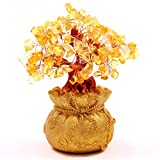 Citrine Tree / Yellow Crystal Tree is a powerful tree of abundance. It will help you attract wealth and prosperity, success, and all good things. Place it in their living room to bring you money luck. It is also said to improve career luck as well as...