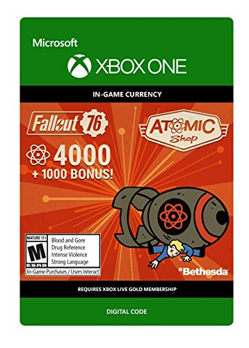 Fallout 76: 4000 (+1000 Bonus) Atoms  - Xbox One [Digital Code]