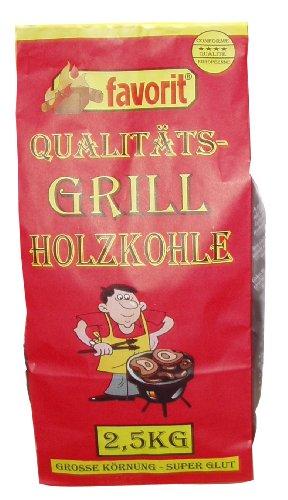 Favorit 2500 Grill-Holzkohle 2.5 kg