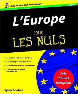 Amazon Fr L Europe Pour Les Nuls 2e Edition Sylvie