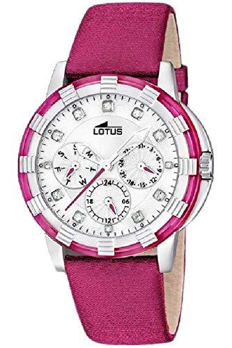 Lotus Glee Womens Analog Quartz Watch with Leather Bracelet 15746/F